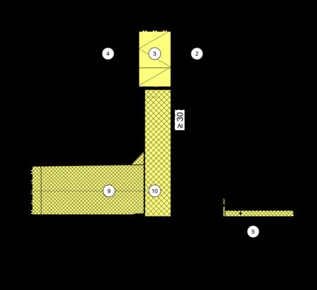 detailseite planungsatlas hochbau au enwand mit w rmed mm verbundsystem loggien erker. Black Bedroom Furniture Sets. Home Design Ideas
